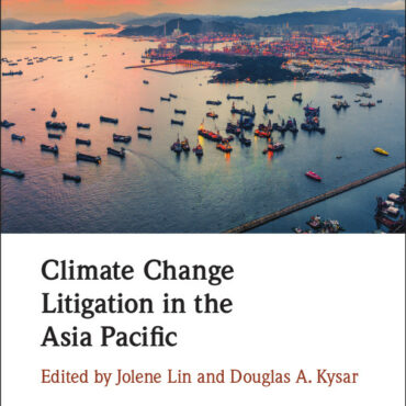 Climate Change Litigation in the Asia-Pacific